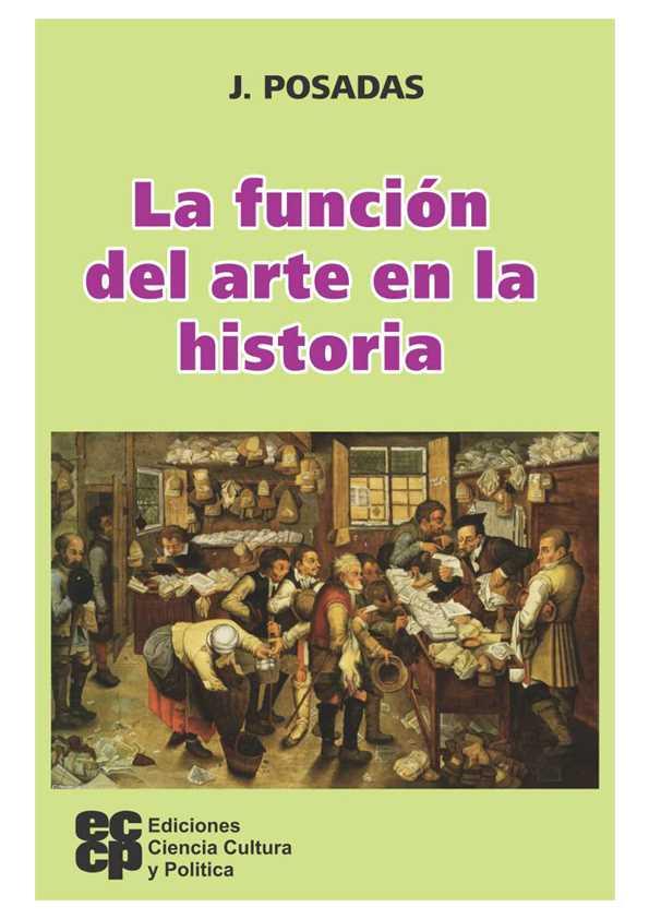 La función del arte en la historia